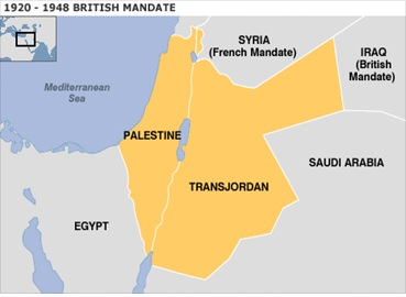 Mandate of Palestine and Transjordan