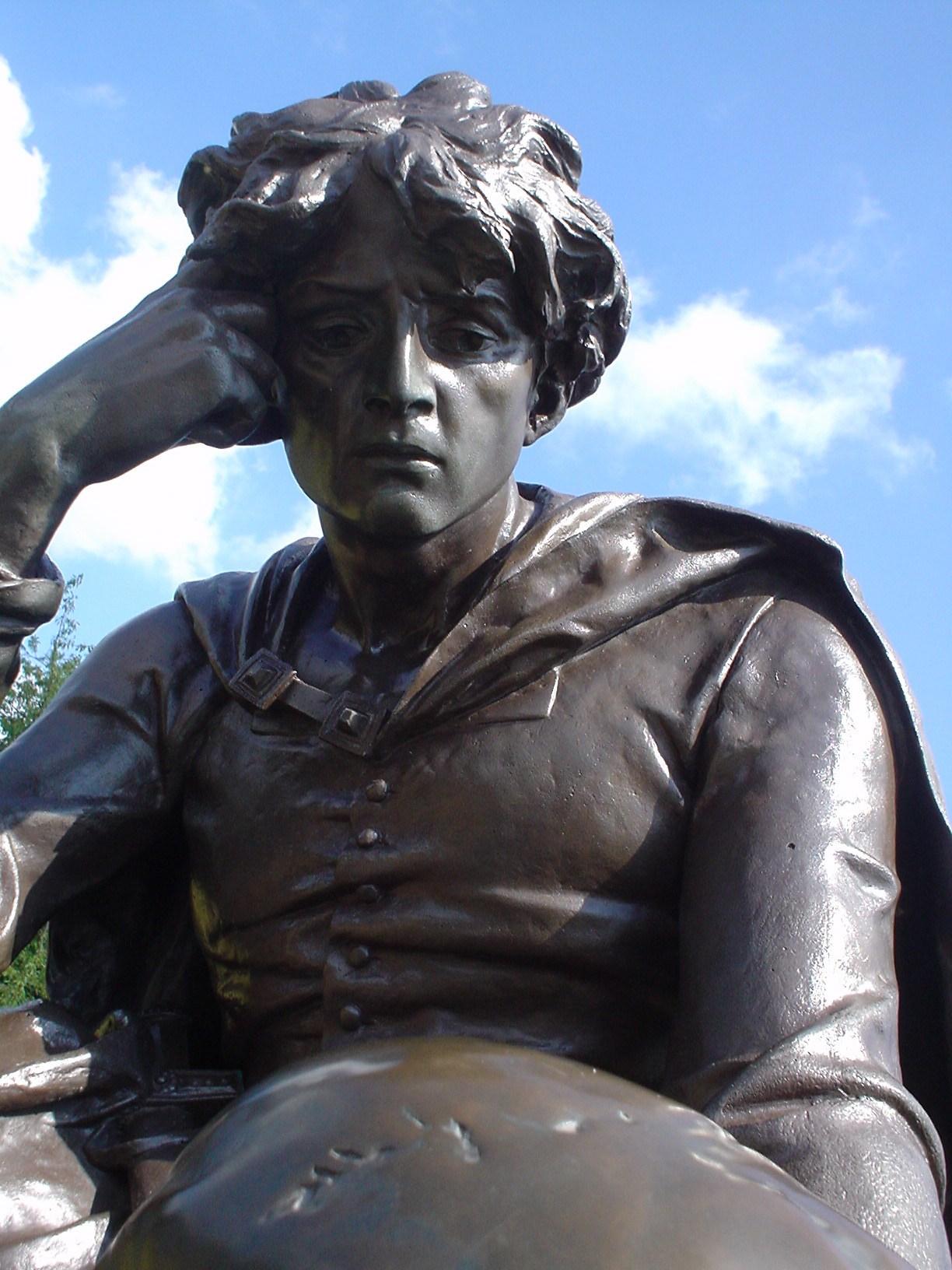 Sculpture of Hamlet