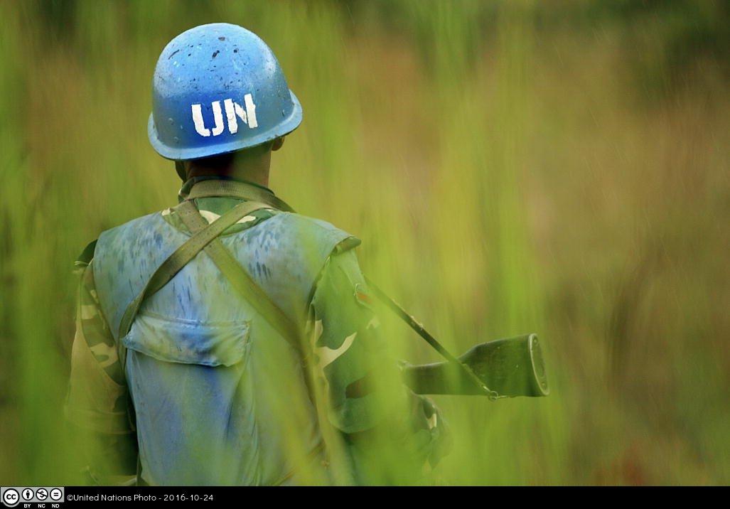 UN soldier
