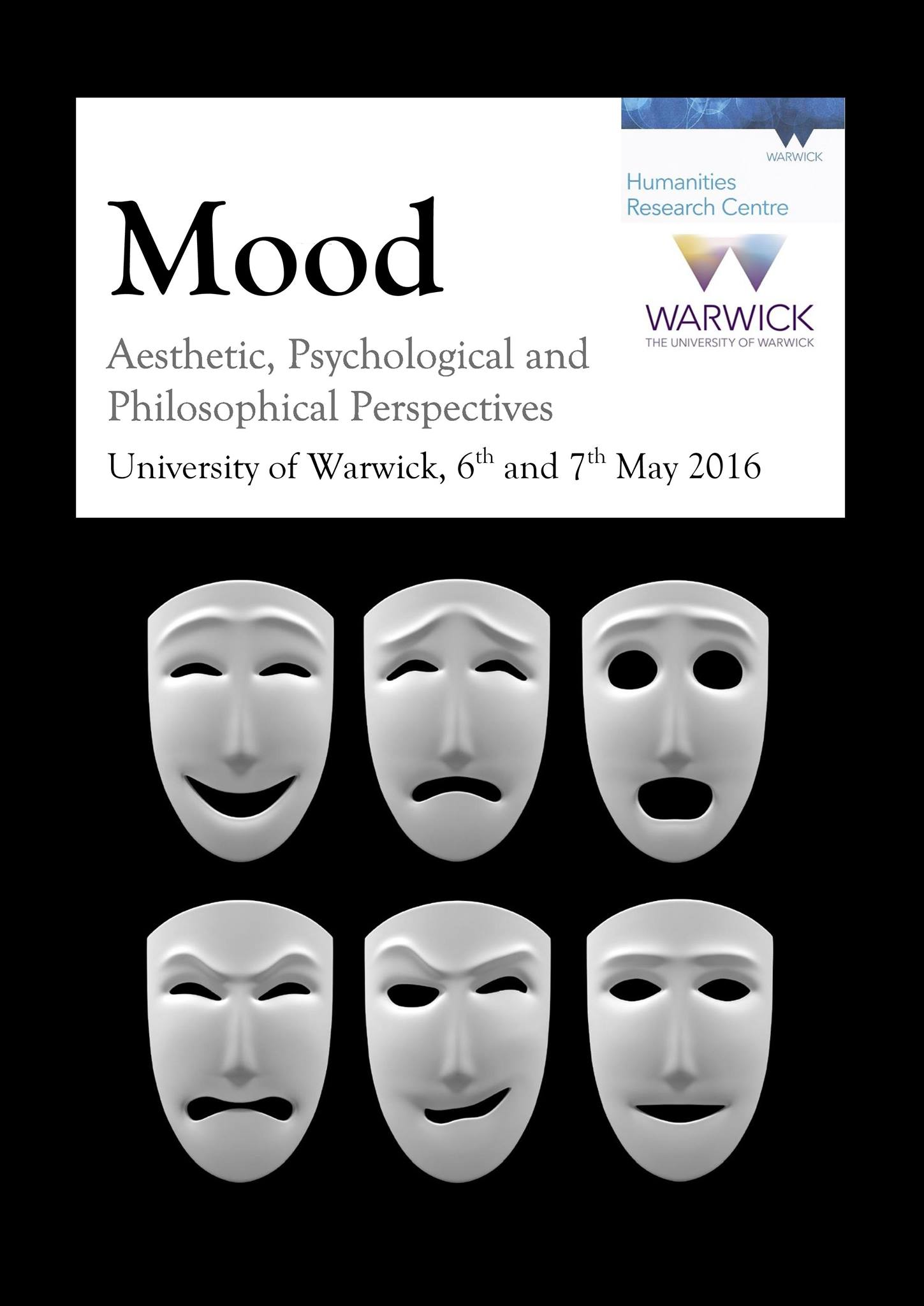 Book cover showing masks